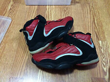 Nike air Max penny 4 Red Black 3M Sz 11.5 Ds New Foamposite foams 1 2 3