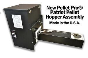 "Pellet Pro® Patriot 12"" Pellet Grill Hopper Assembly- Made in the U.S.A- PID"