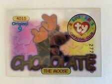 Rare Series 1 Clear - Original 9 Trading Card - Chocolate - Blue