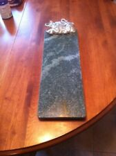 Mint Arthur Court Marble Trivit/Cutting Cheeseboard with Elephants 1987