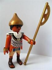 Playmobil romain/Egyptian figure: garde ou soldat avec casque d'or & hache NEUF