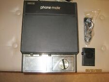 Phone Mate Remote 930 Answering Machine/ Vintage 1970's, WORKING