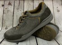 Mens Ecco Biom Casual Walking Shoes Grey Yak Leather Mens Sz EU 45 11 11.5 US