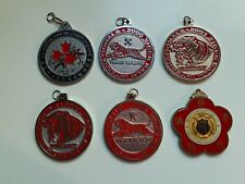 Martial Arts Medals, Lot Of 6 Metal, Heavy, Preowned