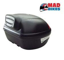 Givi E450N Motorcycle Motorbike Top Box Luggage Case Plus Pillion Backrest E84