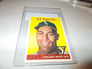 "1958 TOPPS  "" AL SMITH ""        "" FREE SHIPPING IN USA """