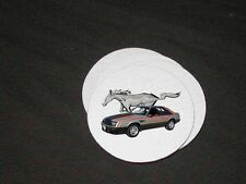 New 1979 Ford Mustang Pace Car Soft Coaster set!