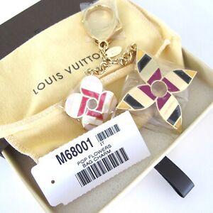 SOLD OUT! LOUIS VUITTON POP FLOWER BAG CHARM KEY HOLDER M68001 BNIB!