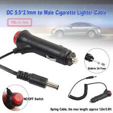 Cigarette Lighter 12V Car Power Supply Adapter Plug Charger DC Cable 5.5mm Plugs