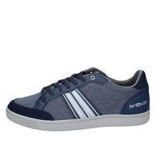 Herren schuhe LOTTO 46 sneakers blau grau textil BY843-46