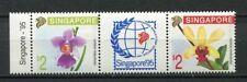 24948) SINGAPORE 1991 MNH** Nuovi** Flowers Orchids 2v