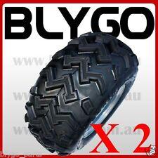 "2X 22X10- 10"" inch Rear Wheel Rim+ Tyre Tire 150c 250cc Quad Dirt Bike ATV Buggy"