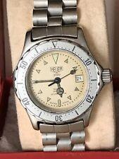 Vintage Female Heuer 2000 Professional Diver Quartz Watch