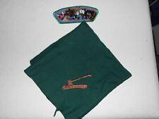 BSA Combo Neckerchief + Woodbadge Patch