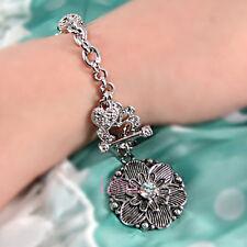 Vintage Flower Bracelet Made with Swarovski Crystal BP1606