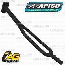 Apico Black Rubber Side Stand Kickstand Headlight Battery Strap KTM Enduro Model