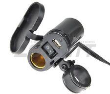 EKLIPES EK1-110B Black Cobra Motorcycle 12v + USB Charging System