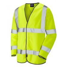 "RetroMax Fire Retardant Hi Vis Yellow Vests 3XL 50"" to 54"" Chest Pack of 16"