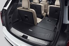 Black All Weather Cargo Floor Mat Liner for 2020-21 Cadillac XT6 GM 84229582 OE