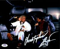 Christopher Lloyd autographed signed 8x10 Back To The Future PSA COA Doc Brown