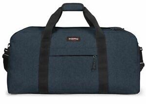 EASTPAK Terminal + L Reisetasche Sporttasche Tasche Triple Denim Blau Neu