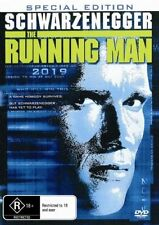 The Running Man Special Edition Arnold Schwarzenegger Region 4 - 2 Disc Dvd
