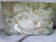 UTAH, NATIONAL  MONUMENT OUARRY DINOSAUR NATIONS RELIEF FOSSIL BONES POSTCARD