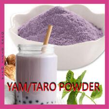 ORGANIC Yam TARO Mix Milk Tea Powder Bubble Tea Premium Quaity FREE FAST POST