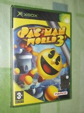 """ PAC - MAN WORLD 3 "" X BOX"