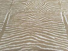 Brunschwig Fils Zebra Handprint Linen Fabric- Le Zebre Tan 2.25 yd BR-79168.0