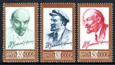 Russia 2483-2485, MNH. Definitive. Vladimir Lenin, 1961