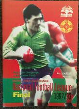1993 GAA NFL Final Dublin v Donegal Programme
