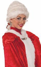 Deluxe Mrs. Claus Wig - Christmas X-Mas Costume Accessory