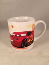 Disney Collectable pixar Cars childs mug cup - Lightning McQueen & Piston Cup