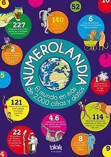 Numerolandia : El Mundo en Mas de 2,000 Cifras y Datos by Autores Varios...