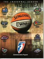 1997 Wnba Commemorative and Championship Programs