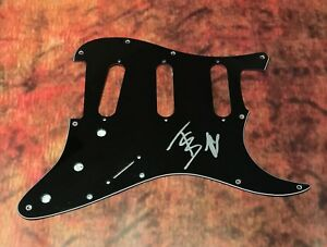 GFA The Chainsmokers Closer ALEX PALL Signed Electric Strat Pickguard COA