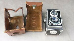 Ancien appareil photo bi-objectif SEMFLEX objectif OREC bel état.