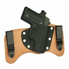 FoxX Leather & Kydex IWB Hybrid Holster Sig Sauer P238 Natural/Tan Right Conceal