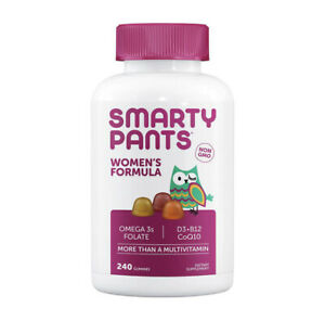 SmartyPants Women's Complete Gummy Multivitamin, 240 ct.