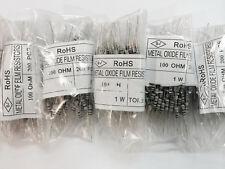 30pcs 100 ohm 5% 100R 1W /1 Watt Metal Film Resistor -US STOCK