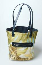 Salvatore Ferragamo Jungle Print Shopper Tote Handbag