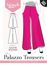 Da Donna principianti il Palazzo Pantaloni Taglia UK 8-20 Sewing Pattern cb74bd3f82ec