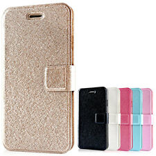 Flip Leather Case Credit Card Cover Wallet For Apple iPhone 4 5 5c 5S 6 6S PLUS