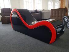 Tantra Kamasutra Relax Sex Zocker Sofa Stuhl Liege Sessel LACK UND LEDER 😎