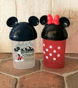Disney Mickey Minnie Mouse Oshibori Towel Case Holder Storege