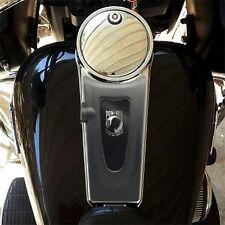 """Grey POW MIA"" - Gas Tank Dash ConsoIe CB Intercom Insert for 03-07 Harley Ultra"