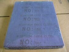 9X11 150 A/O CLOTH SANDING SHEETS 50PCS (GRA002-50)