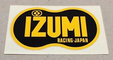 "** Old school BMX ""IZUMI"" RACING-JAPON Autocollant **"