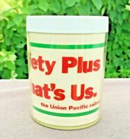 Union Pacific Railroad Safety Vintage THERMO SERV  Plastic Mug 8 oz UP Train